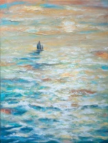 Sailing Into the Sunset 30x40