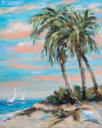 Island Sail 16x20