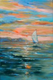 Sailing Away 24x36