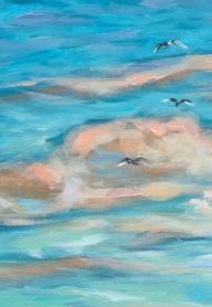 Sailing Close to Shore clouds