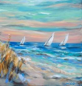 Sailing Close to Shore detail