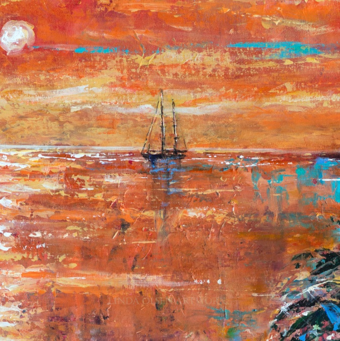 Salt Plage Sunset detail