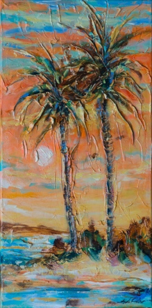 Tropical Palms 10x20
