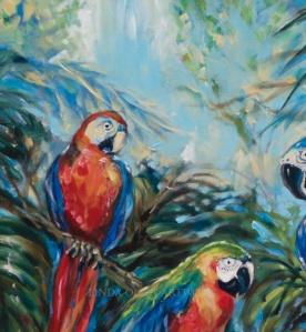 Parrot Choir sky