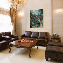 Parrot Living room