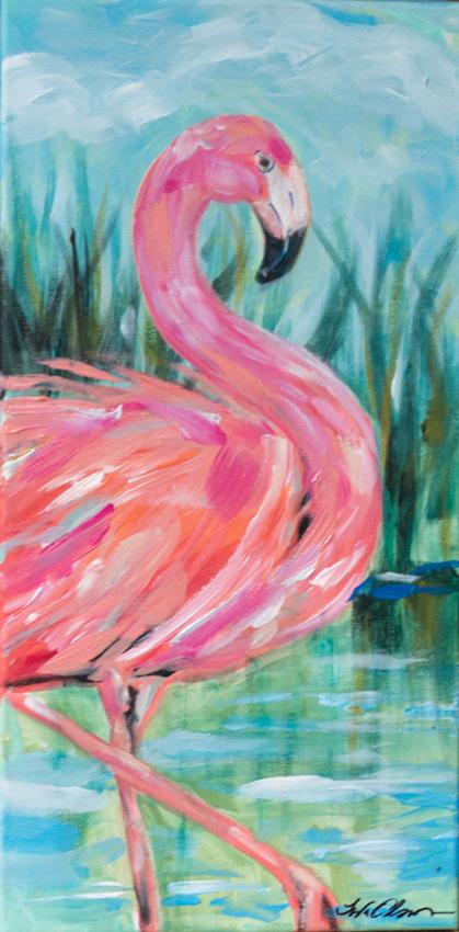 Flamingo Strut 20x10