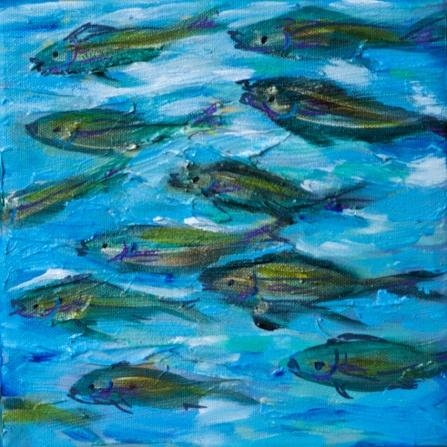 Many Fish 8x8