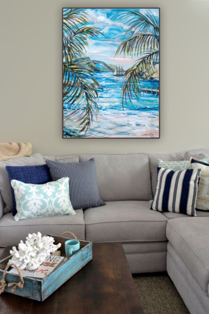 tropical decor