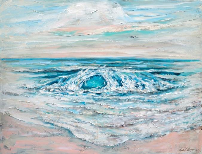 Spring Surf 48x36