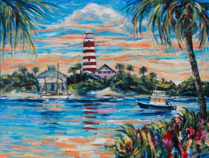 hopetown paradise 48x36