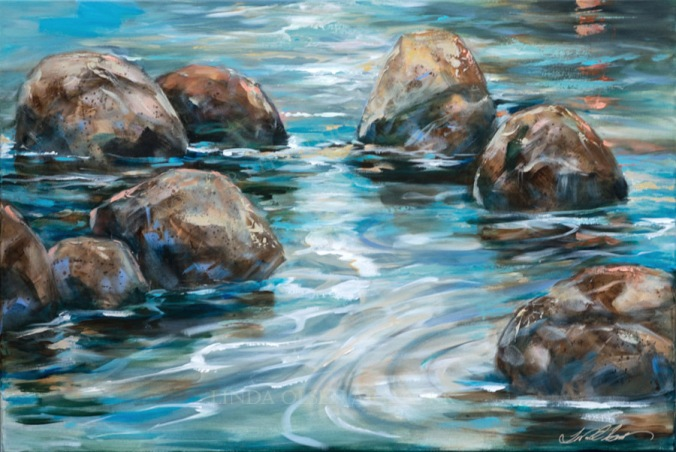 Rock Reflections 36x24