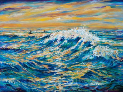 Waiting for the Last Wave 40x30