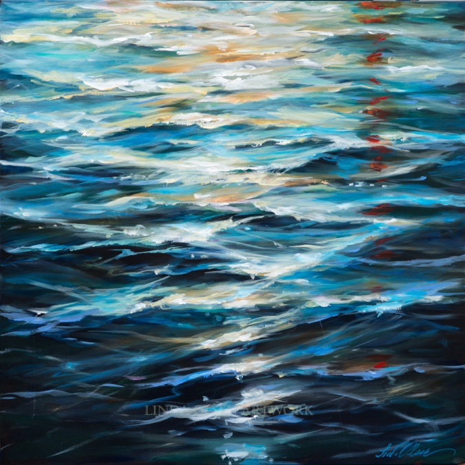 Water Reflections 36x36