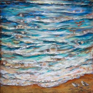 Edge of Tide 36x36