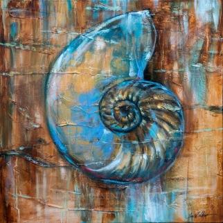 Nautilus Fossil 30x30