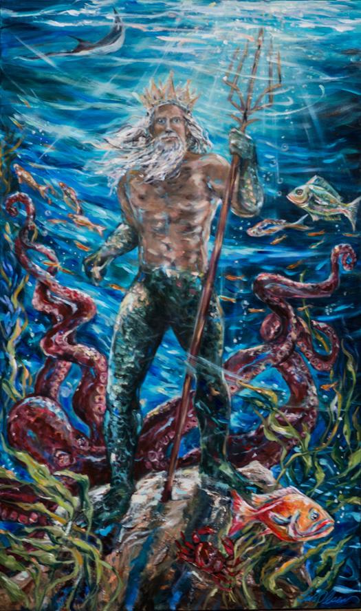 Poseidon 36x60