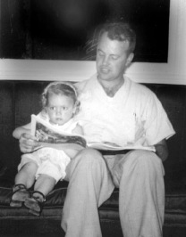 dad and i reading