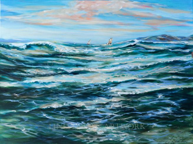 Ocean Sail 48x36
