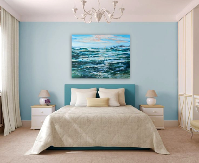 Ocean wave decor